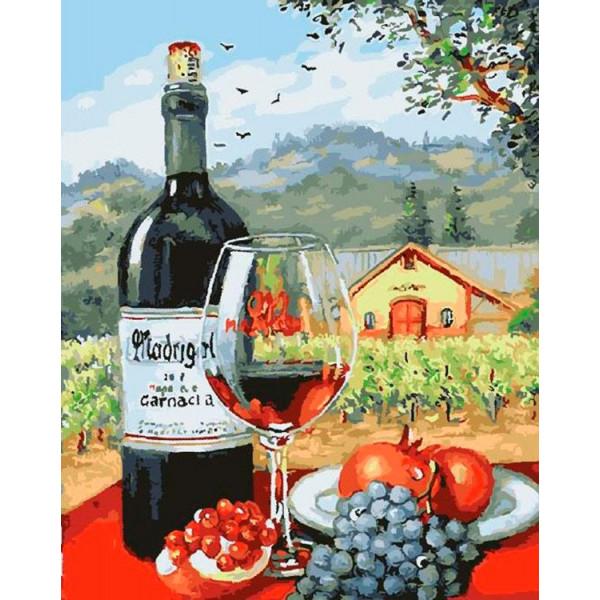 """Картина по номерам """"Великолепие вина"""""""