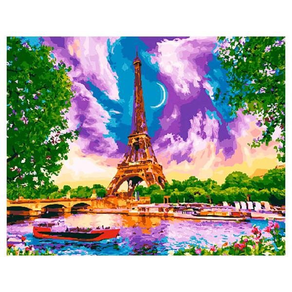 """Картина по номерам """"Виды Парижа"""""""