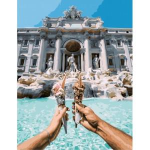 """Картина по номерам """"Итальянское мороженое"""""""