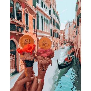 """Картина по номерам """"Венецианское мороженое"""""""