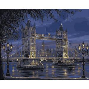 "Картина по номерам ""Лондонский мост"""
