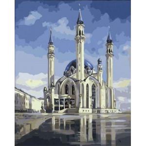 """Картина по номерам """"Мечеть Кул-Шариф"""""""