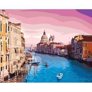 """Картина по номерам """"Утро в Венеции"""""""