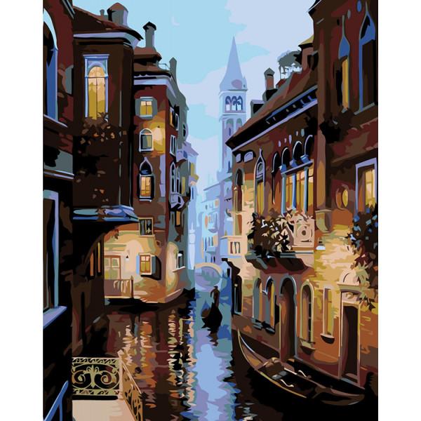 "Картина по номерам ""Венеция вечером"""