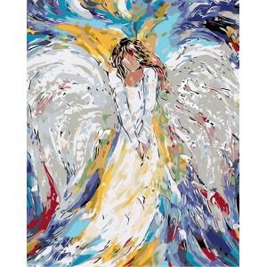 """Картина по номерам """"Беспечный ангел"""""""