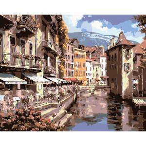 """Картина по номерам """"Каналы Венеции"""""""