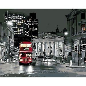 """Картина по номерам """"Ночной Лондон"""""""