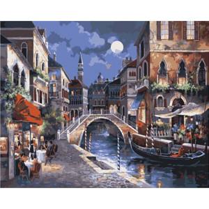"Картина по номерам ""Ночная Венеция"""