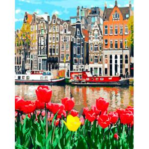 """Картина по номерам """"Городские цветы"""""""