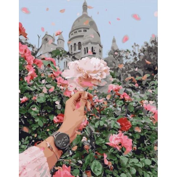 """Картина по номерам """"Благоухание роз"""""""