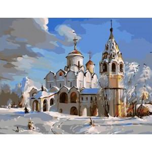"""Картина по номерам """"Суздаль. Покровский собор"""""""