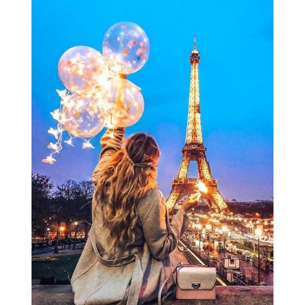 """Картина по номерам """"Вечер во Франции"""""""