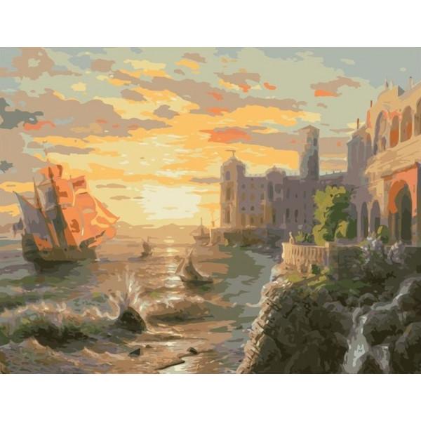 """Картина по номерам """"Древние города"""""""