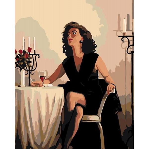 """Картина по номерам """"В ожидании вечера"""""""