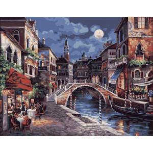 """Картина по номерам """"Ещё одна ночь в Венеции"""""""