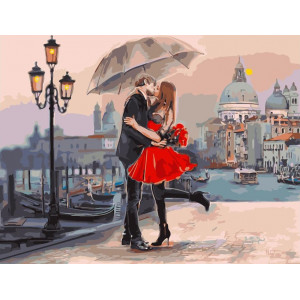 """Картина по номерам """"Венецианская любовь"""""""