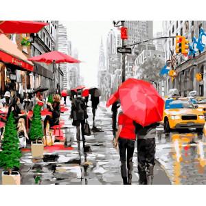 "Картина по номерам ""Нью-Йорк"""