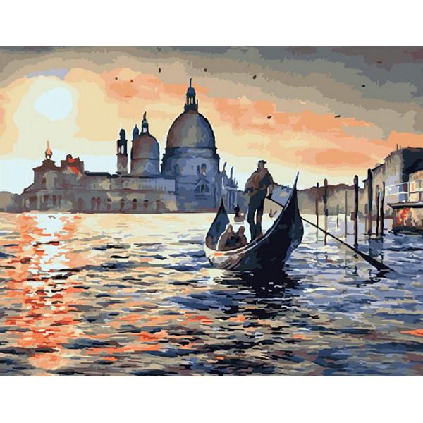 """Картина по номерам """"Венецианские песни"""""""