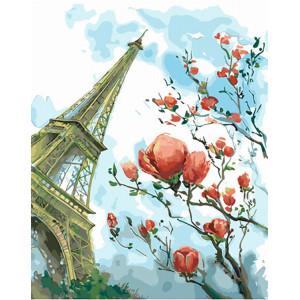 """Картина по номерам """"Акварельный Париж"""""""