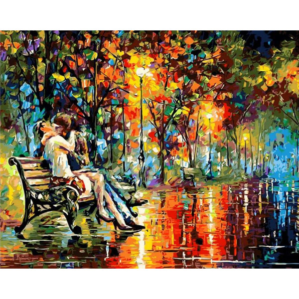 "Картина по номерам ""Вечер страсти"""
