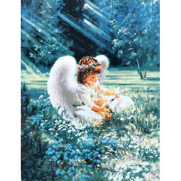 """Картина по номерам """"Ангельская забота"""""""