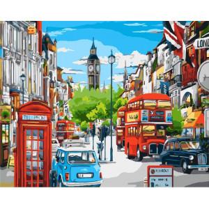 "Картина по номерам ""Яркий Лондон"""