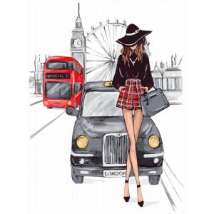 """Картина по номерам """"Встреча в Лондоне"""""""